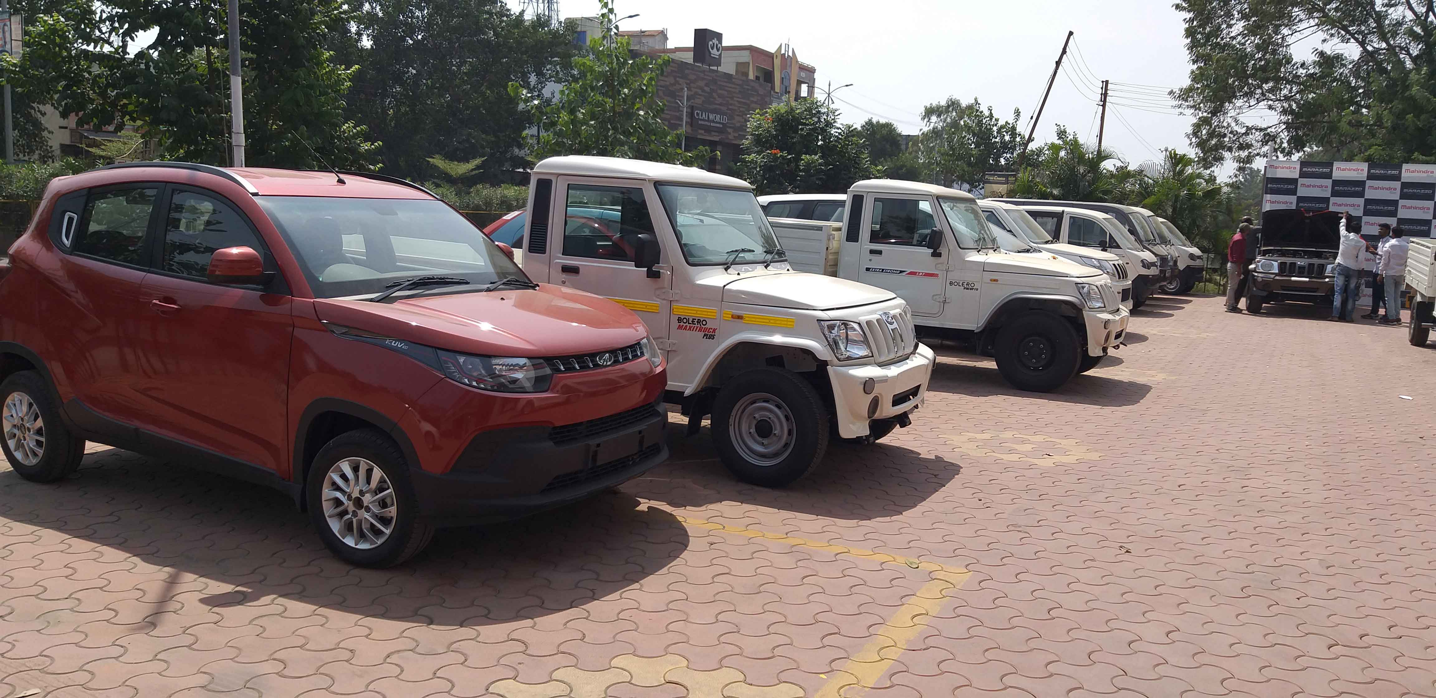 Indomobil Mahindra Showroom, Latur